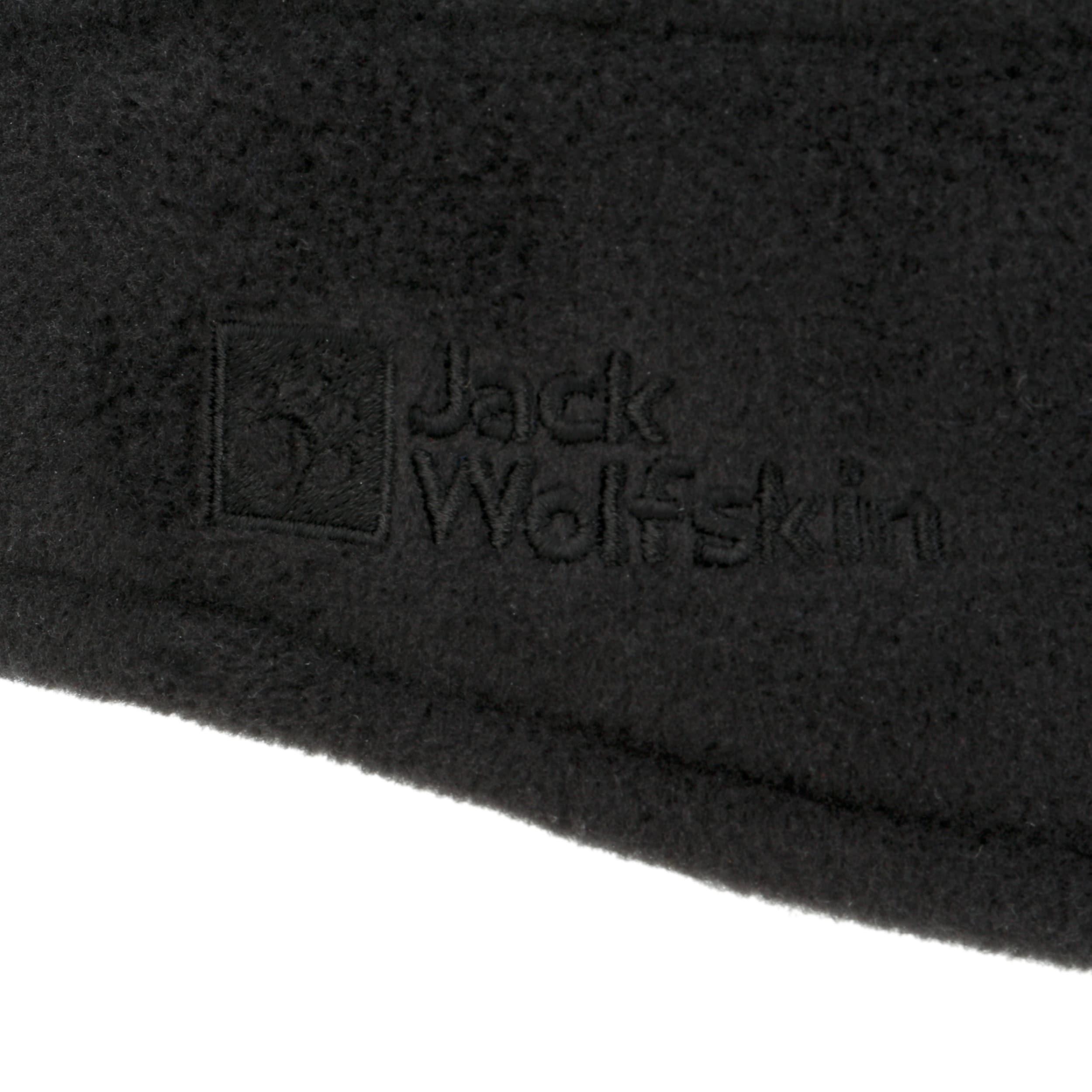 85f2f4480c3d6c ... Vertigo Fleece-Stirnband by Jack Wolfskin - schwarz 1 ...