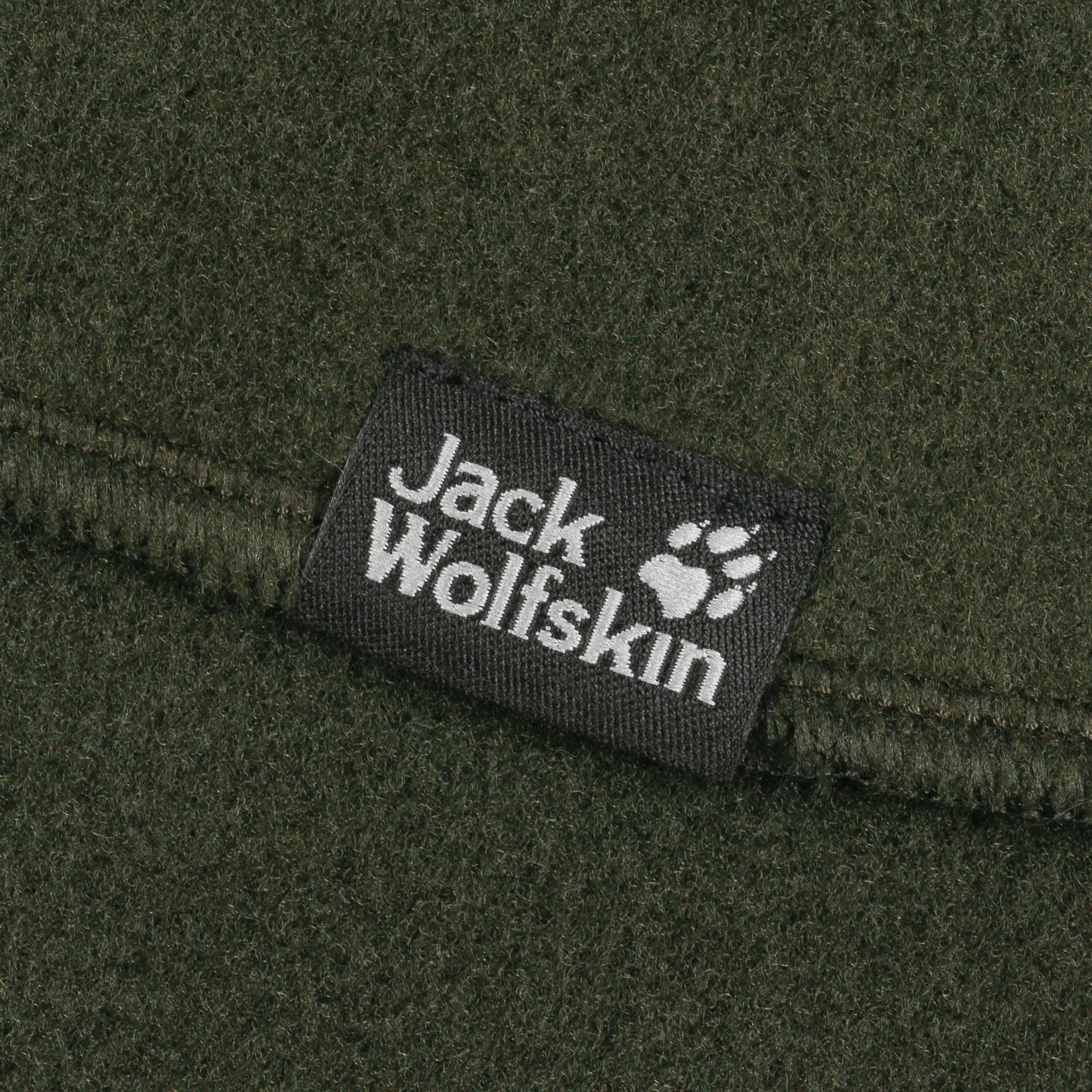 73d94a62bc9d6b ... Vertigo Fleeceschal by Jack Wolfskin - dunkelgrün 2 ...