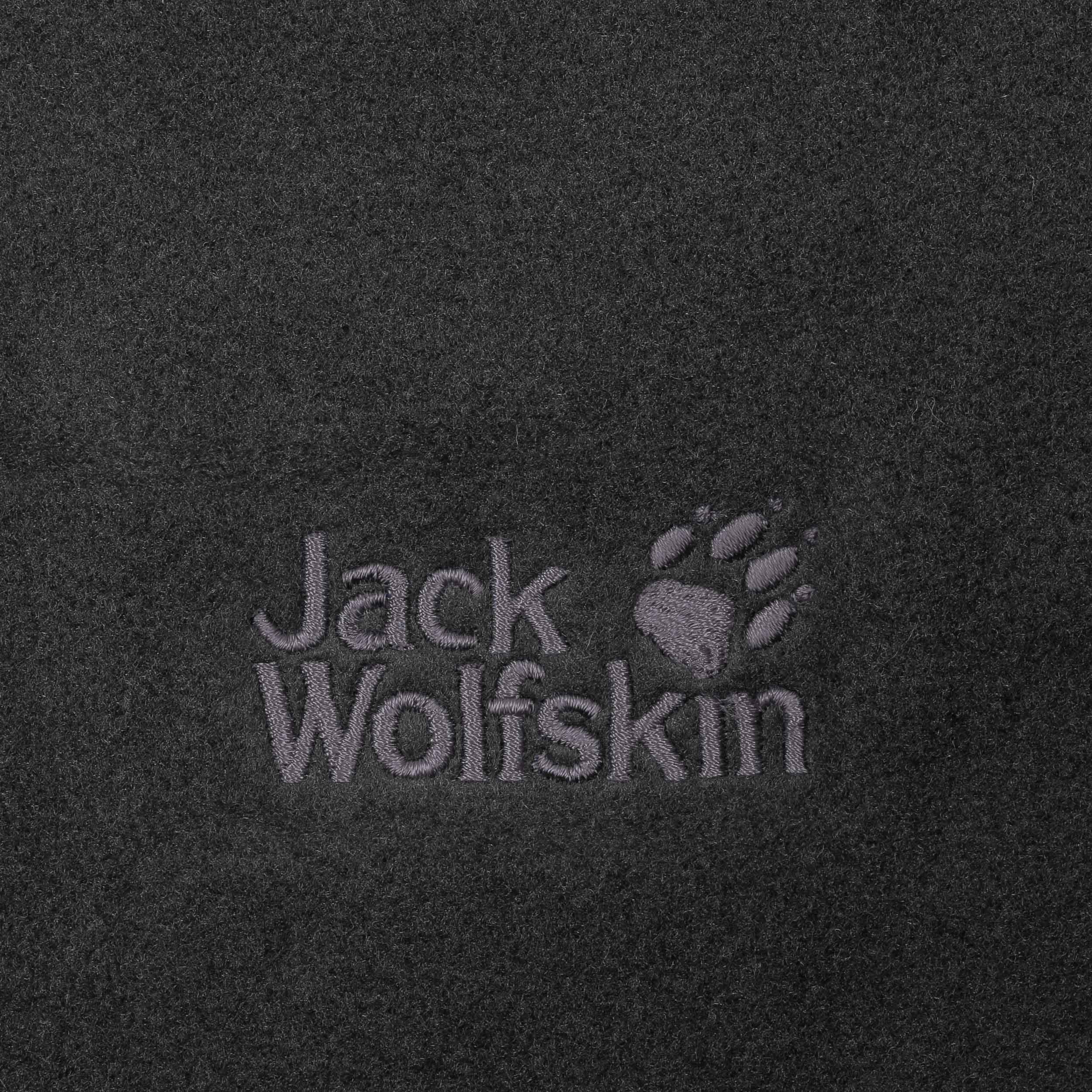 23de56c61fe44e ... Vertigo Fleeceschal by Jack Wolfskin - schwarz 1 ...