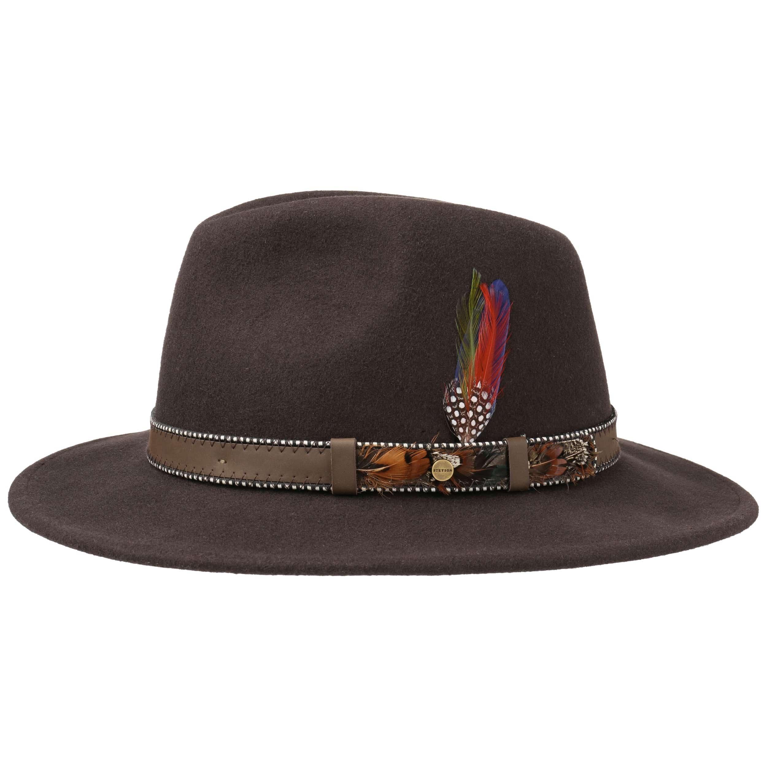 ... Vining Traveller Wool Felt Hat by Stetson - brown 5 ... 8996685e52f