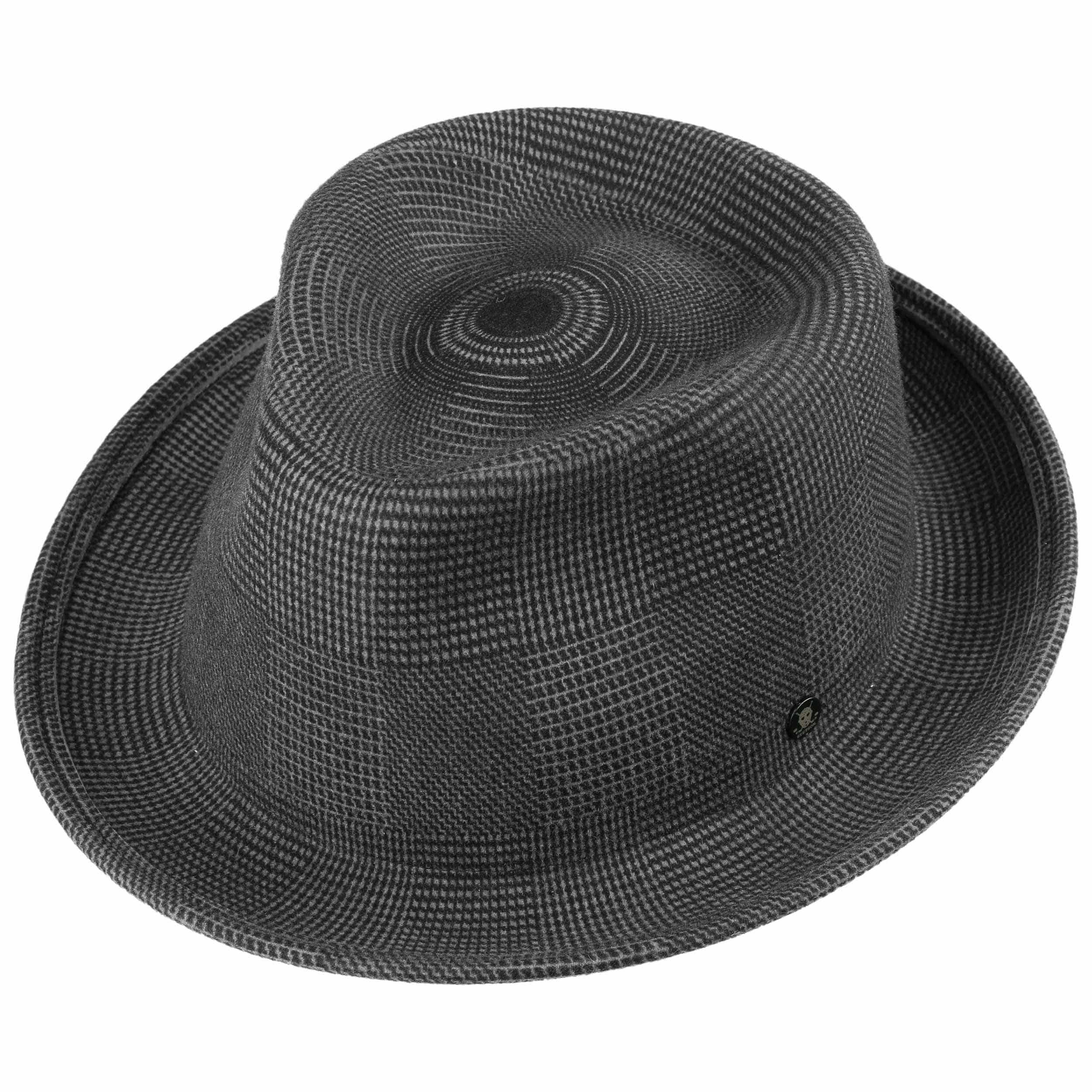 82b1a7379fdfca Virgi Wool Felt Fedora Hat by Stetson - grey 1 ...