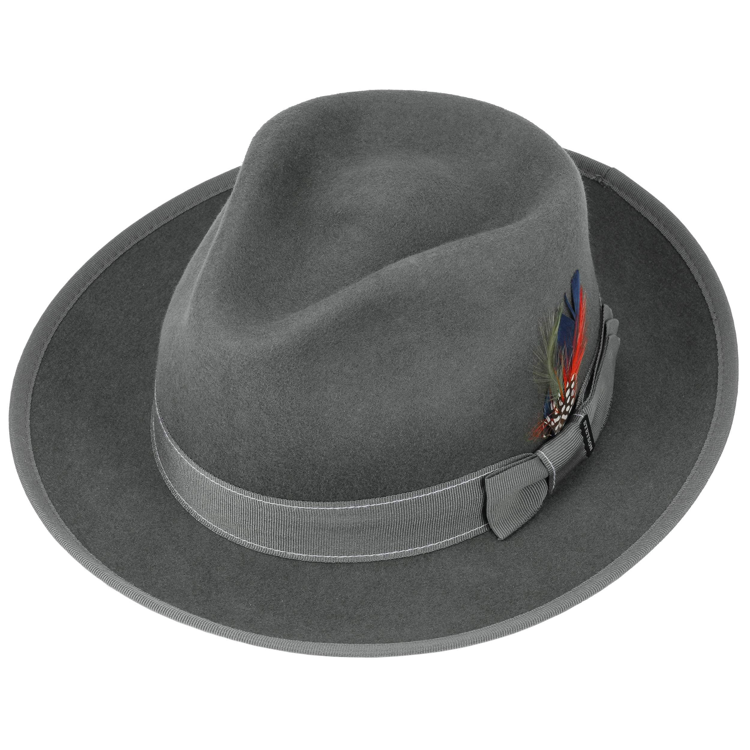 8103a361262443 Virgi Wool Felt Hat by Stetson - grey 1 ...