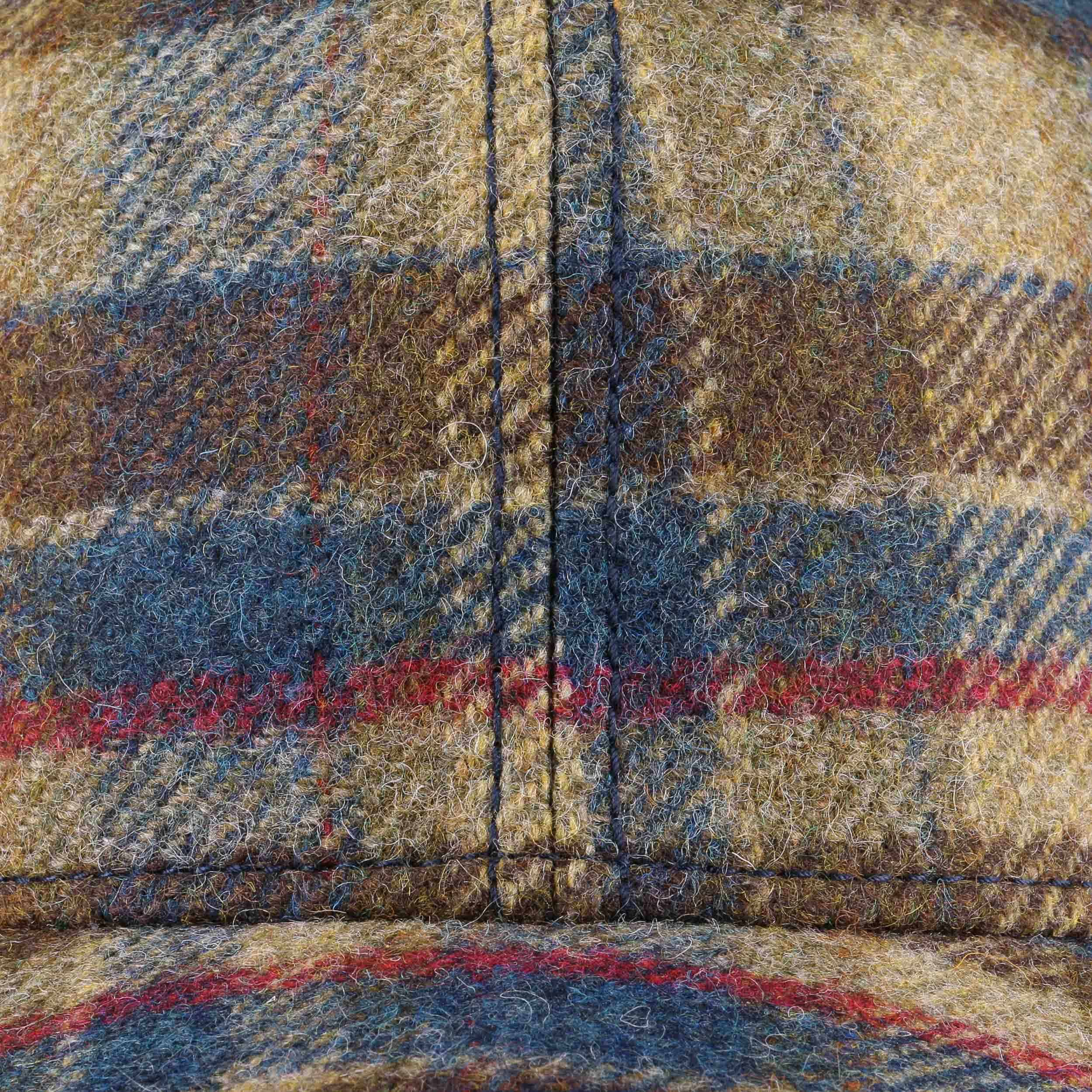 a195e284dbb ... Virgin Wool Check Cap by Stetson - blue 4 ...