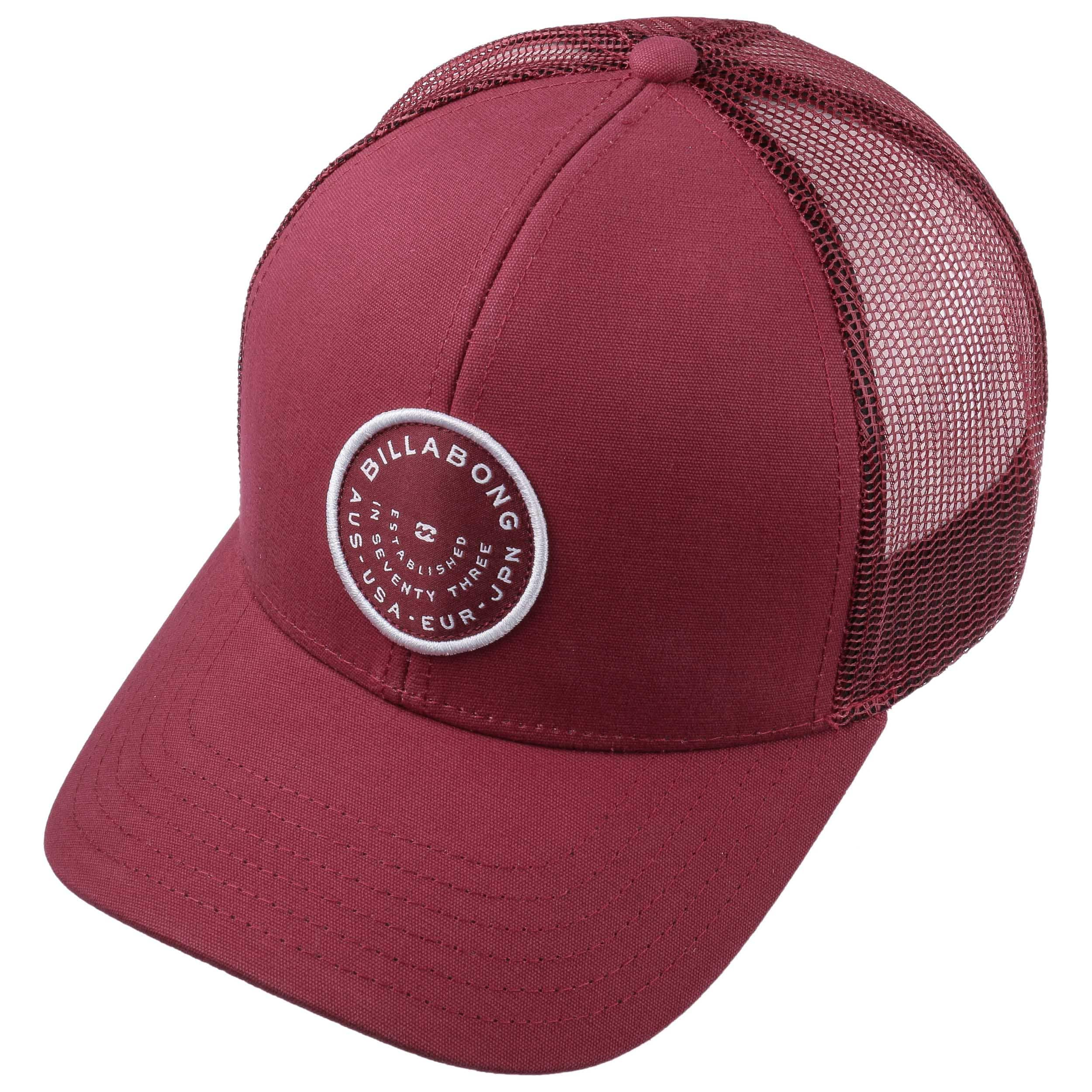 885dae34321913 ... Walled Trucker Cap by Billabong - dark red 1 ...