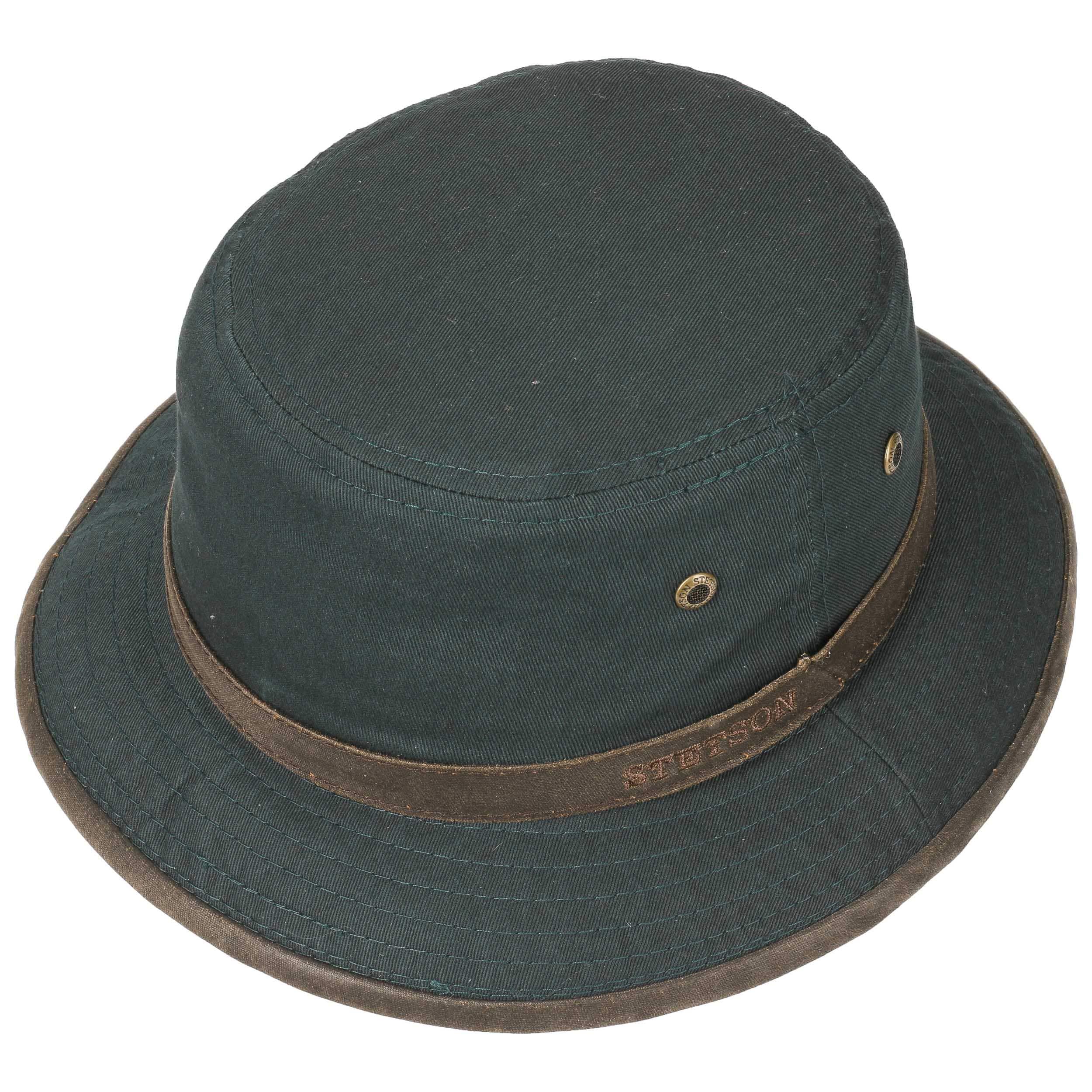 ... Washed Anti UV Bucket Hat by Stetson - black 1 ... 3f59f2fe3bc