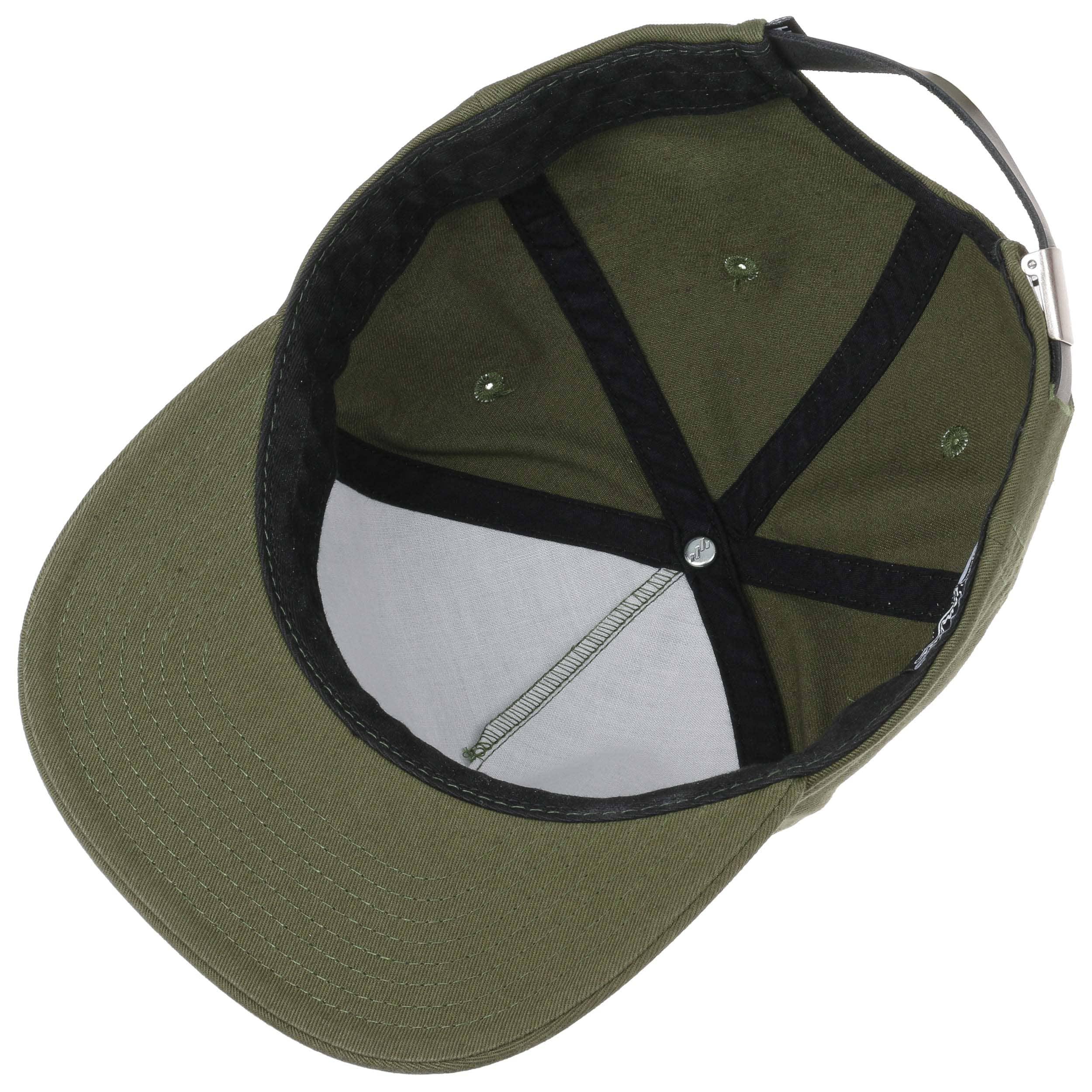 HUF Washed Metal H Strapback Cap Baseballcap Basecap Snapback Flat Brim