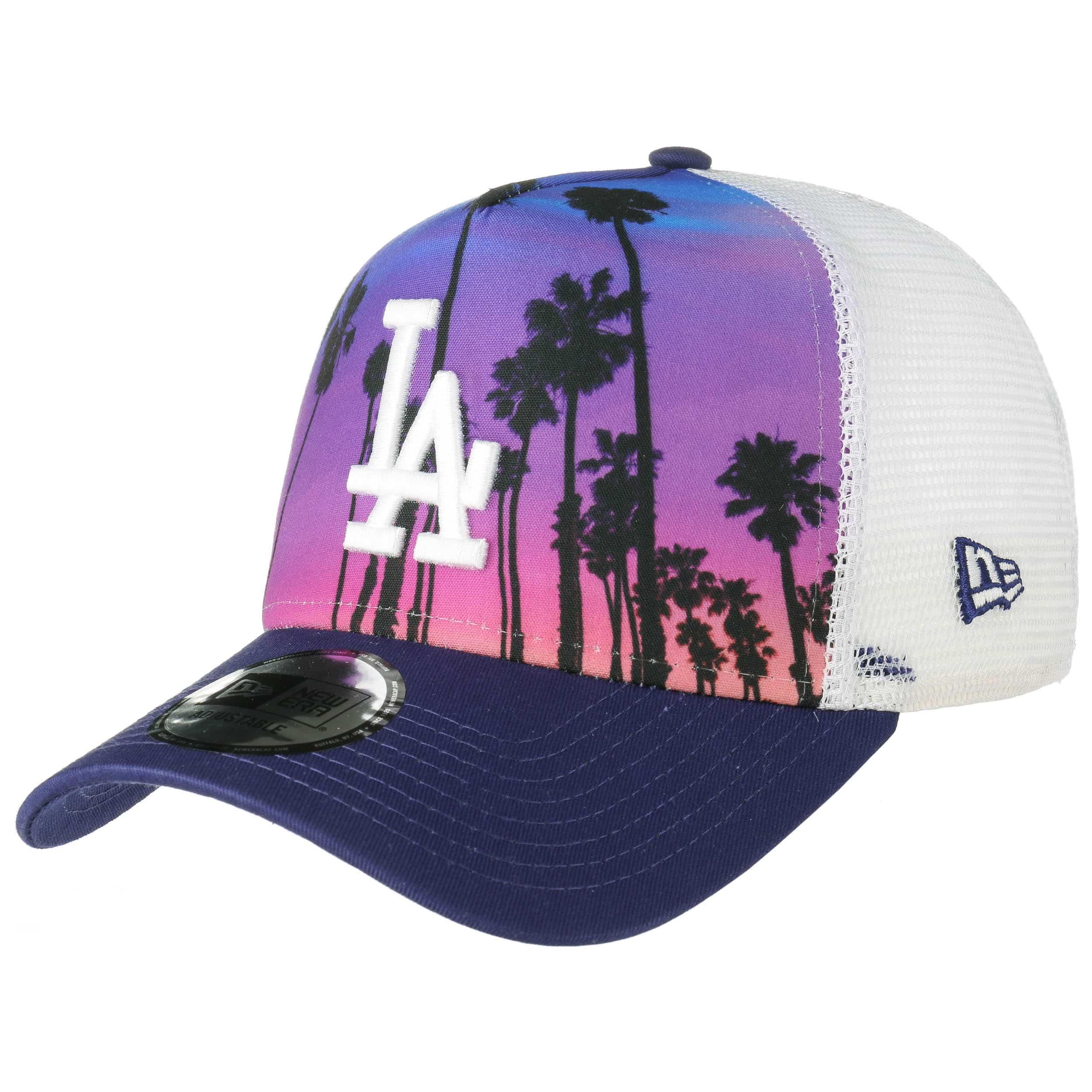 7552b75b37b8f ... West Coast LA Trucker Cap by New Era - purple 6