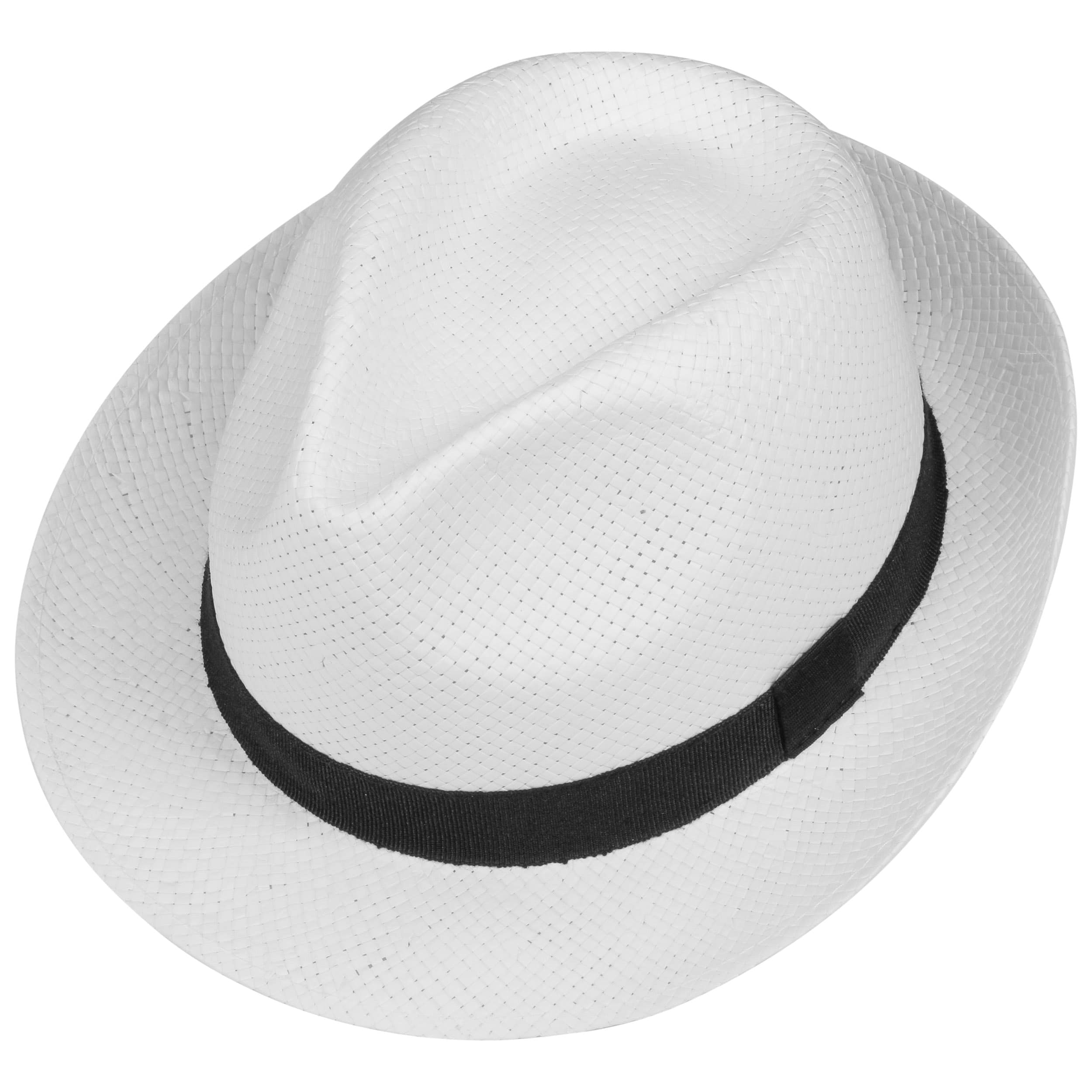 46f41315a185fe White City Trilby Hat by Lipodo - white 1 ...