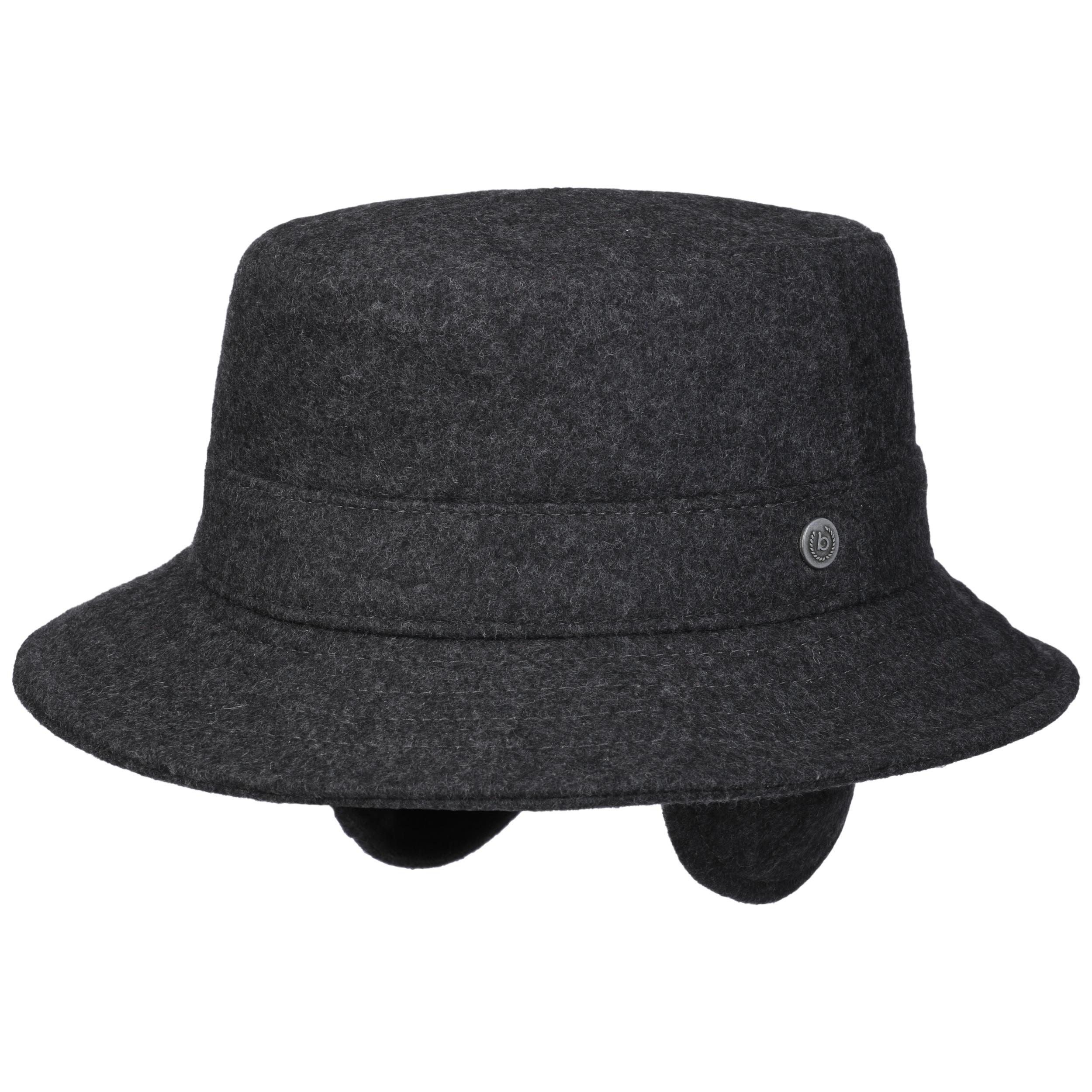 Windstopper Earflaps Wool Hat by bugatti 83ff30090d3