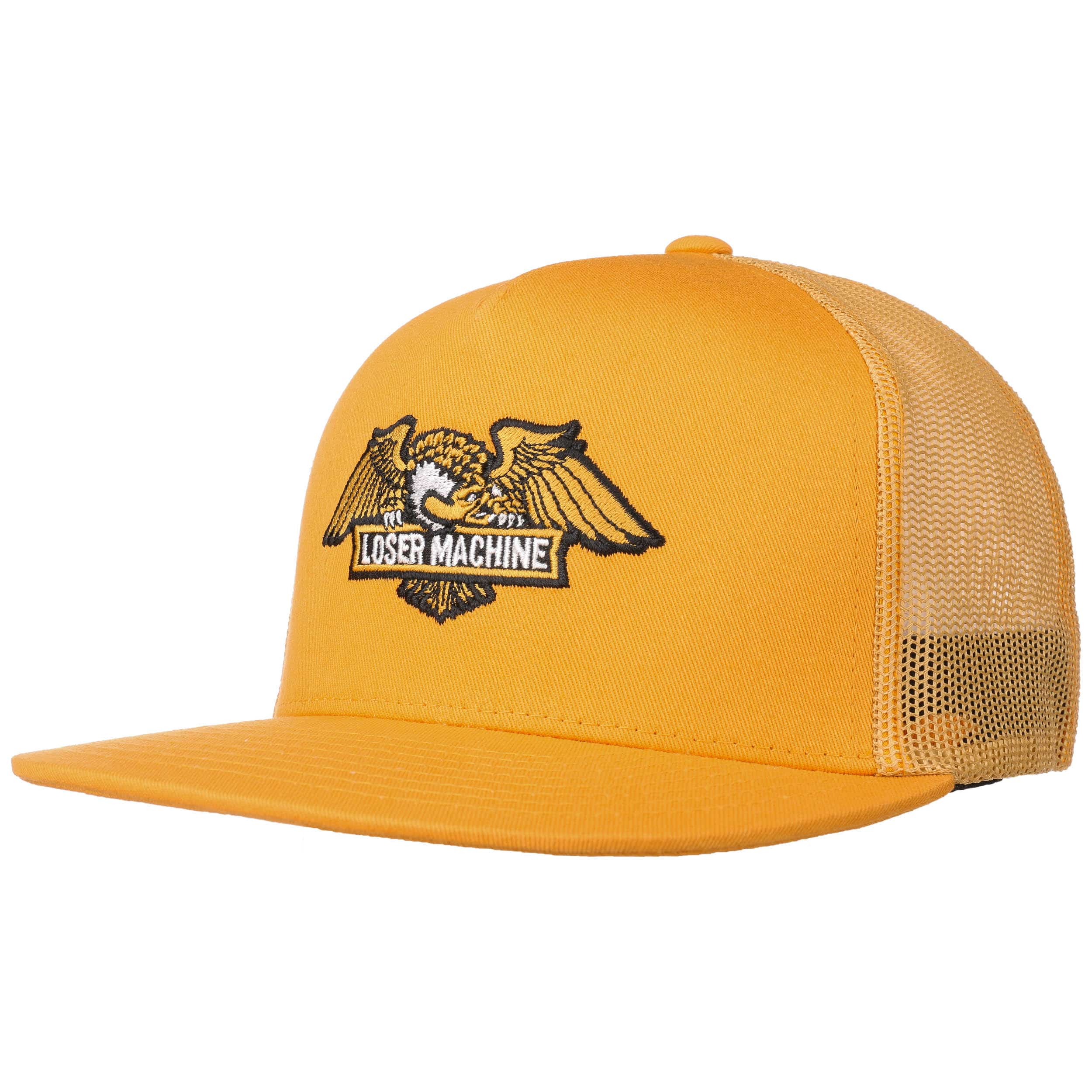 Loser Machine Wings Trucker Hat Black Snapback