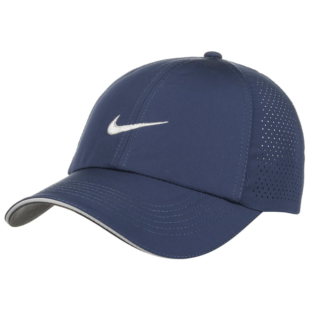 387ccebc024a3 ... Women´s Perforation Cap by Nike - blue 6 ...