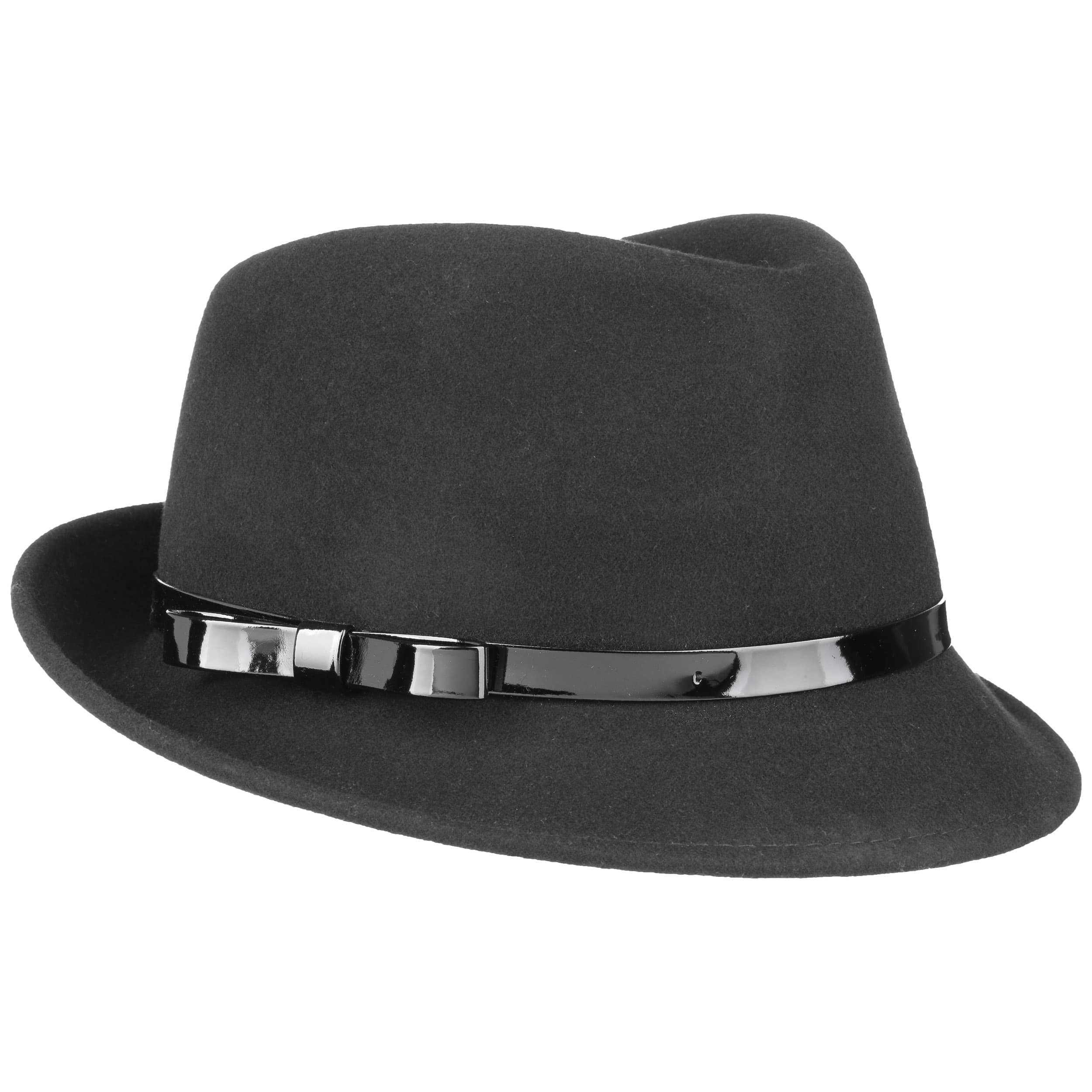 Women´s Trilby with Patent Loop by Lipodo 55226630b40
