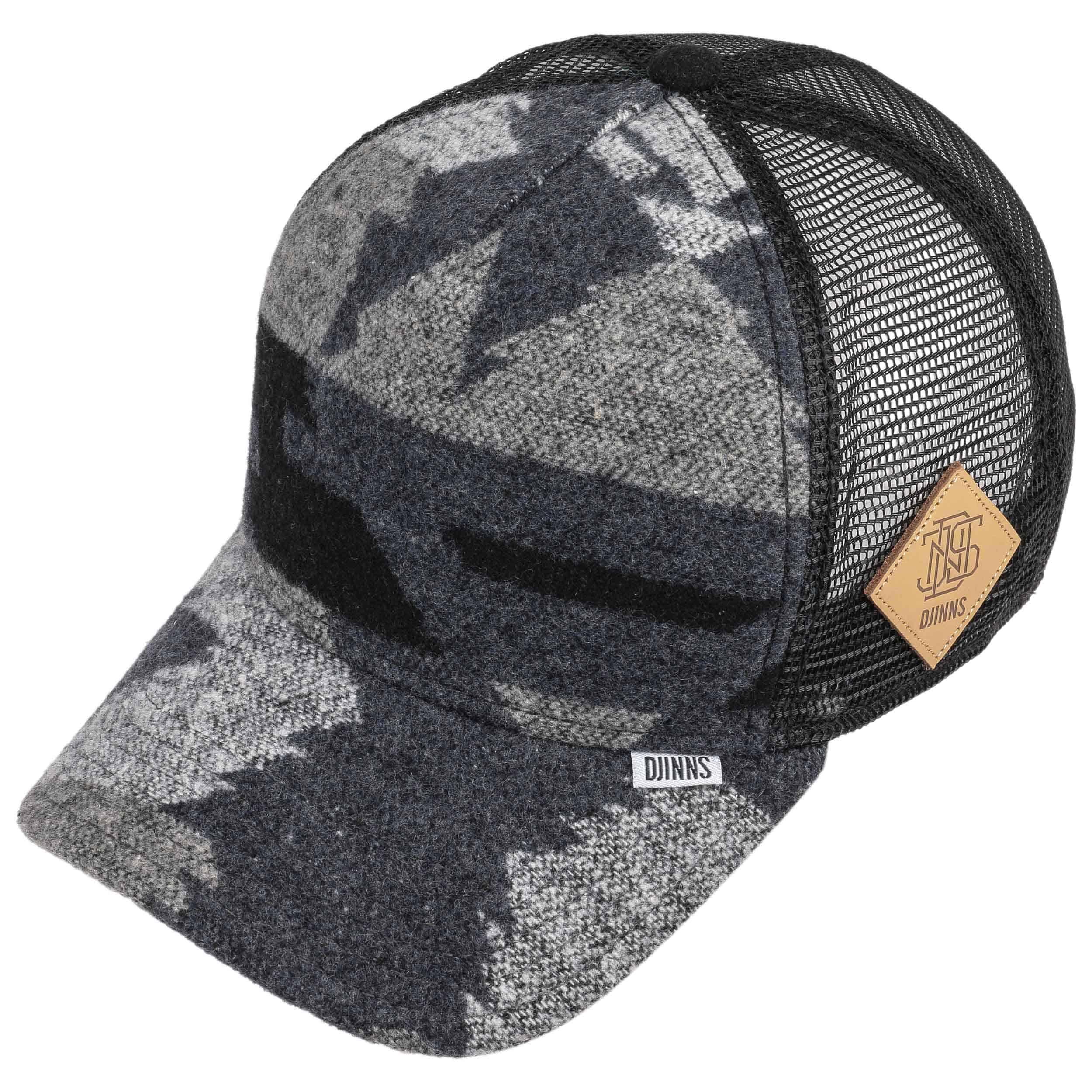wool aztek hft trucker cap by djinns eur 24 99 hats. Black Bedroom Furniture Sets. Home Design Ideas