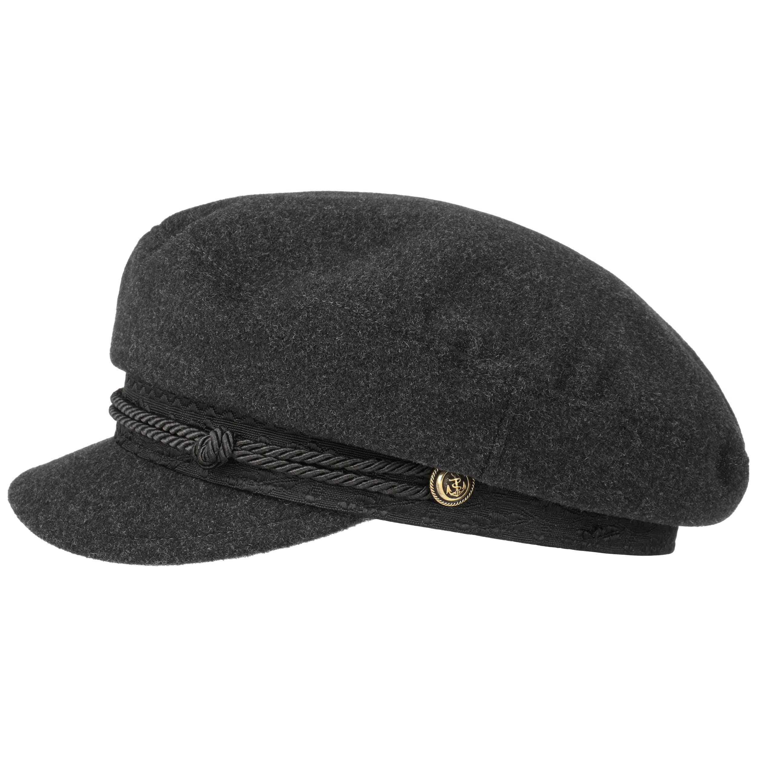 c662fc4e89e60 ... Wool Cashmere Riders Cap by Stetson - grey 6 ...