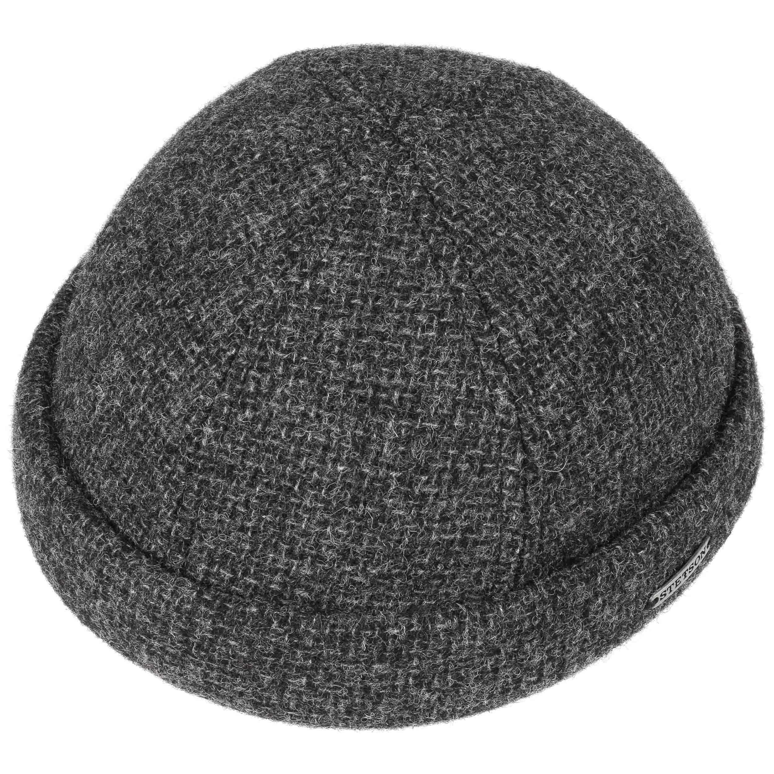 Wool Docker Hat by Stetson - anthracite 1 ... 66ec49847f97