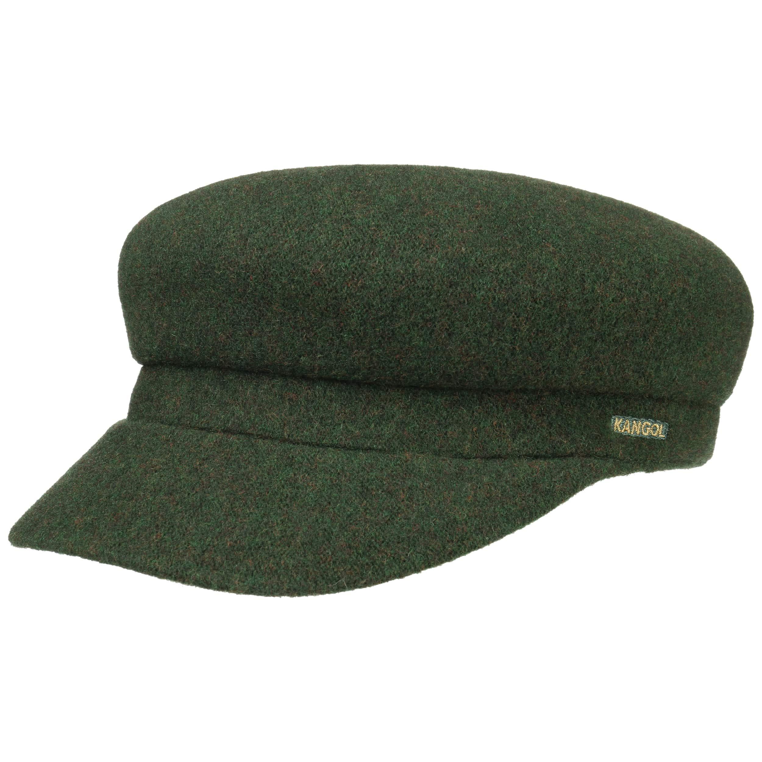 ... Wool Enfield Newsboy Cap by Kangol - dark green 4 ... 1aeab11c9c4
