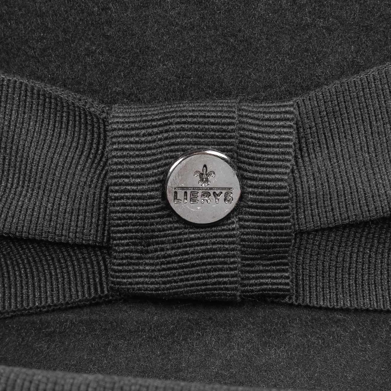44602a9621d655 ... Wool Felt Bowler Hat Uni by Lierys - black 4 ...