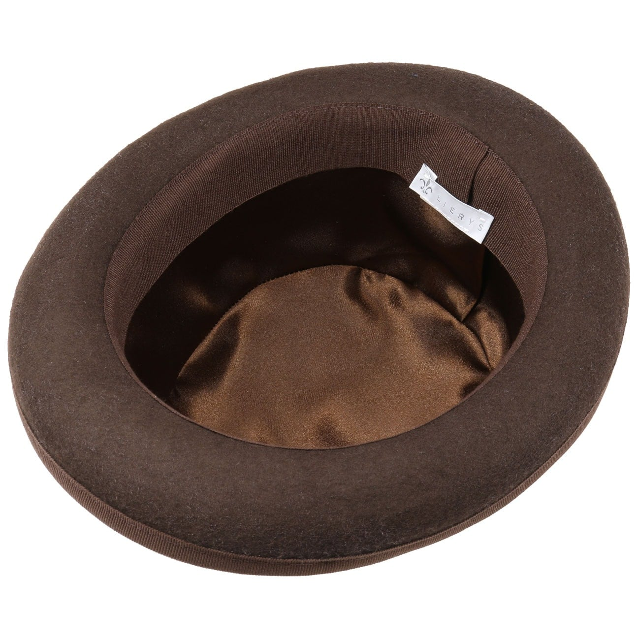 a280c0a8d46c36 ... Wool Felt Bowler Hat Uni by Lierys - blue 3 ...