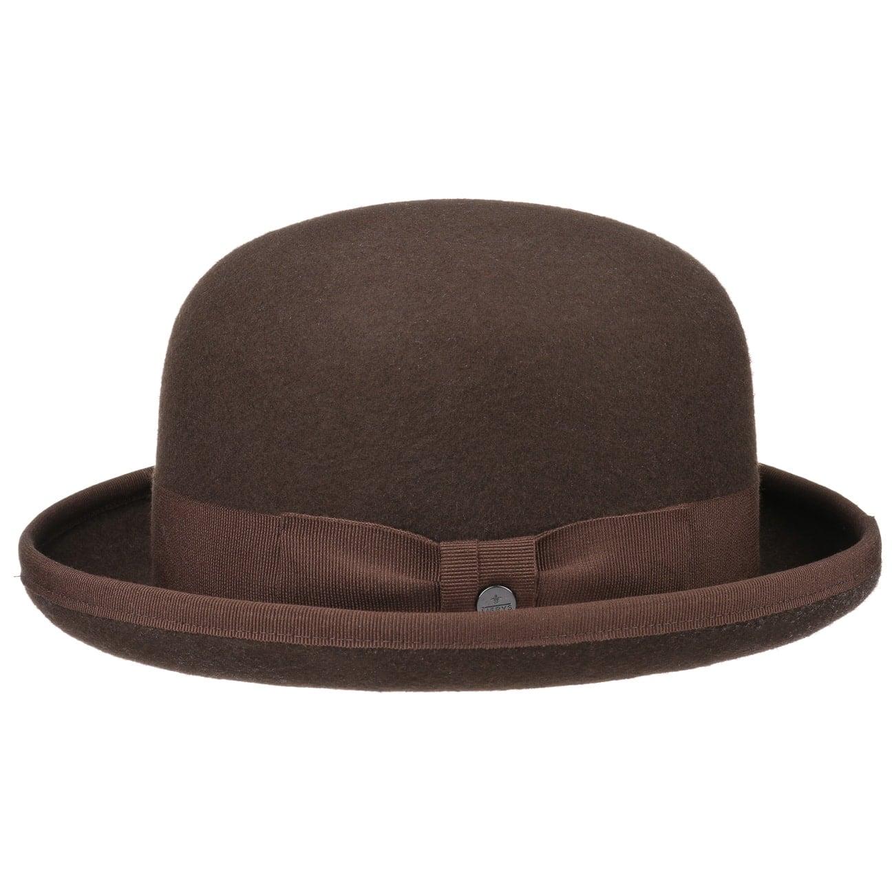 863348e80206d5 ... black 6 · Wool Felt Bowler Hat Uni by Lierys - dark brown 4 ...