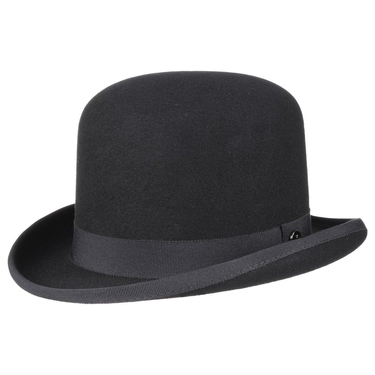 74c9aa23 ... Wool Felt Bowler Hat by Lierys - black 4