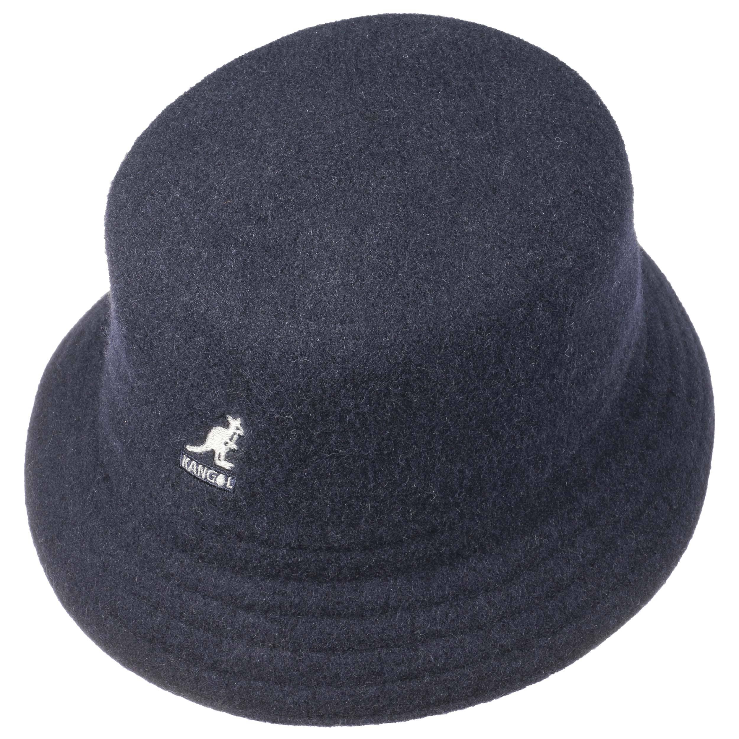 a9f69862d18b9 ... Wool Lahinch Bucket Hat by Kangol - black 1 ...