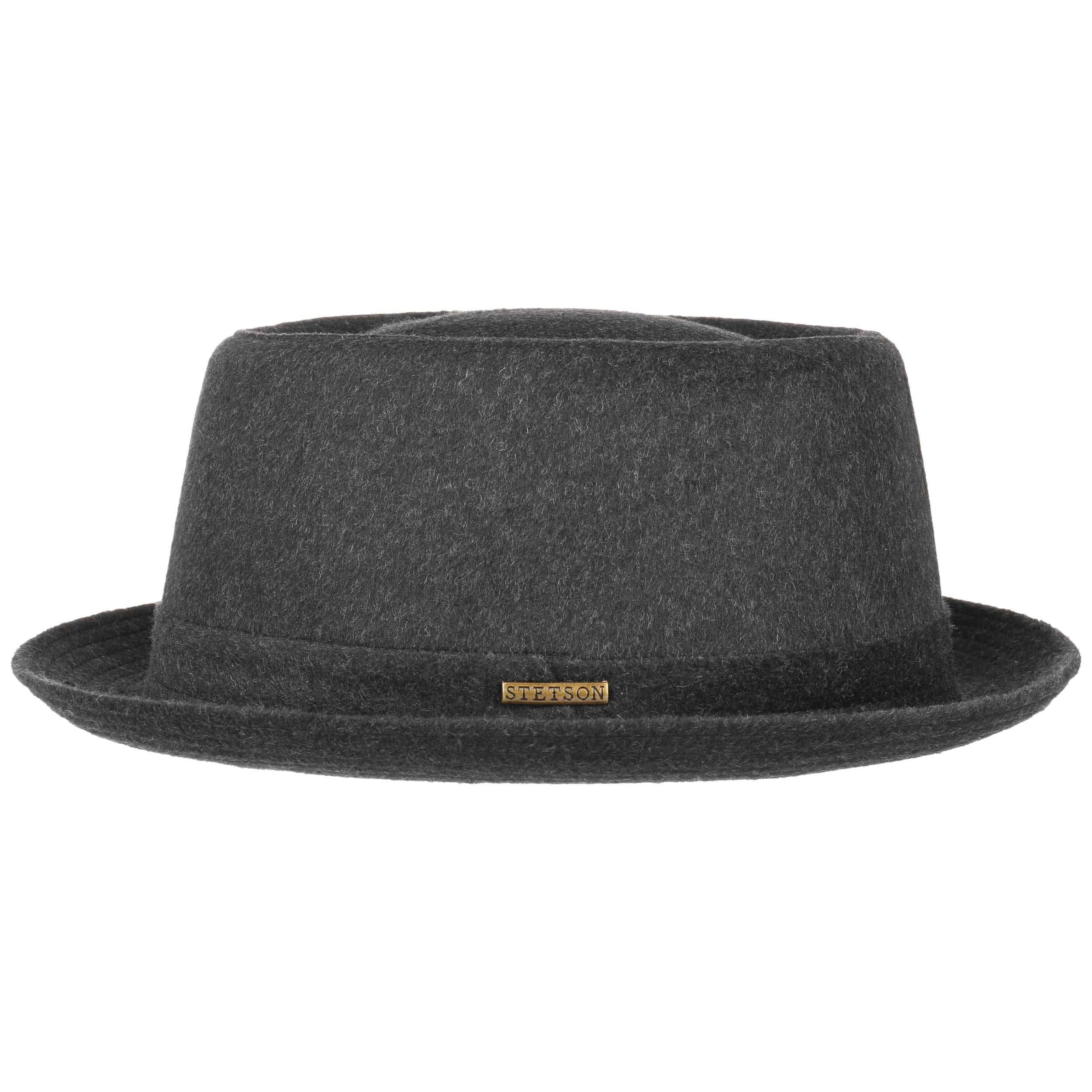 ... Wool Pork Pie Hat by Stetson - anthracite 4 ... 30b9b46f96e