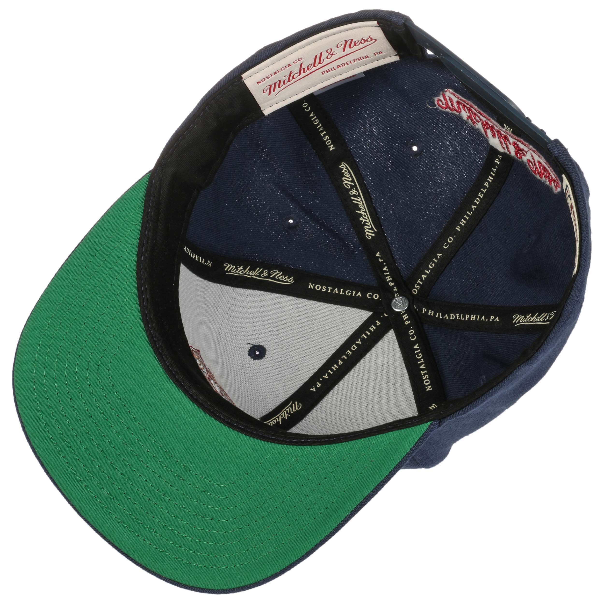 a560cf215b2 ... Wool Solid Nuggets Cap by Mitchell   Ness - navy 2 ...