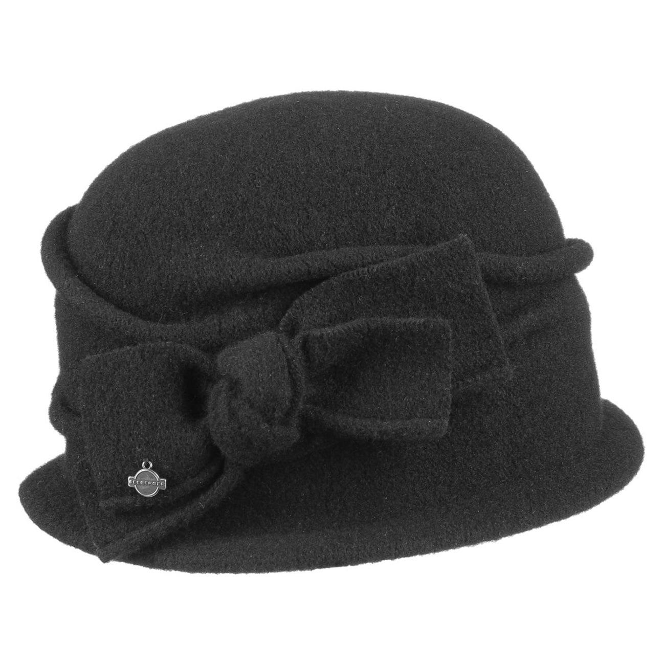 Hat in 100%wool Seeberger grey Seeberger oKElnxEA2c