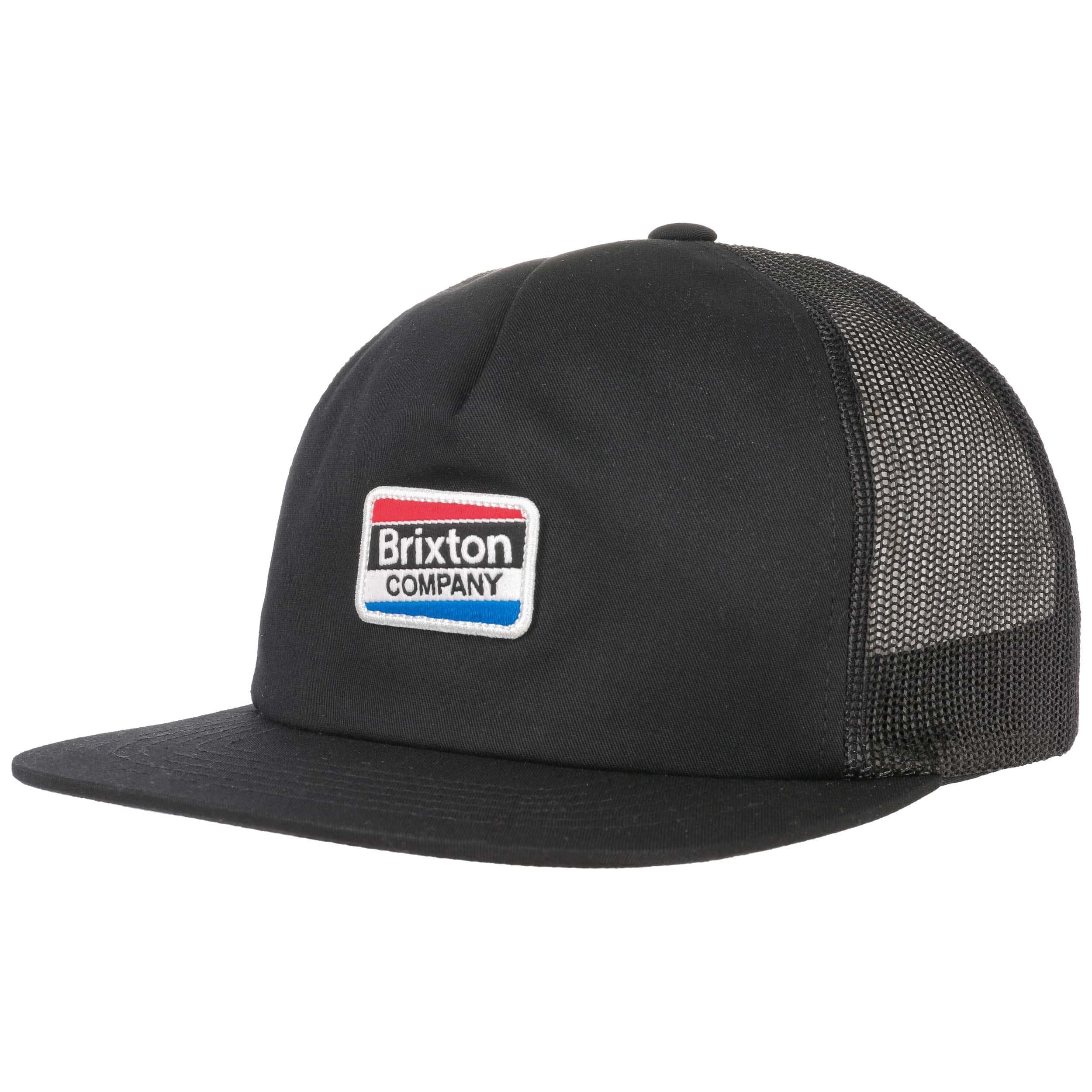 ... Worden Mesh Trucker Cap by Brixton - black 6 7dad53f22d12