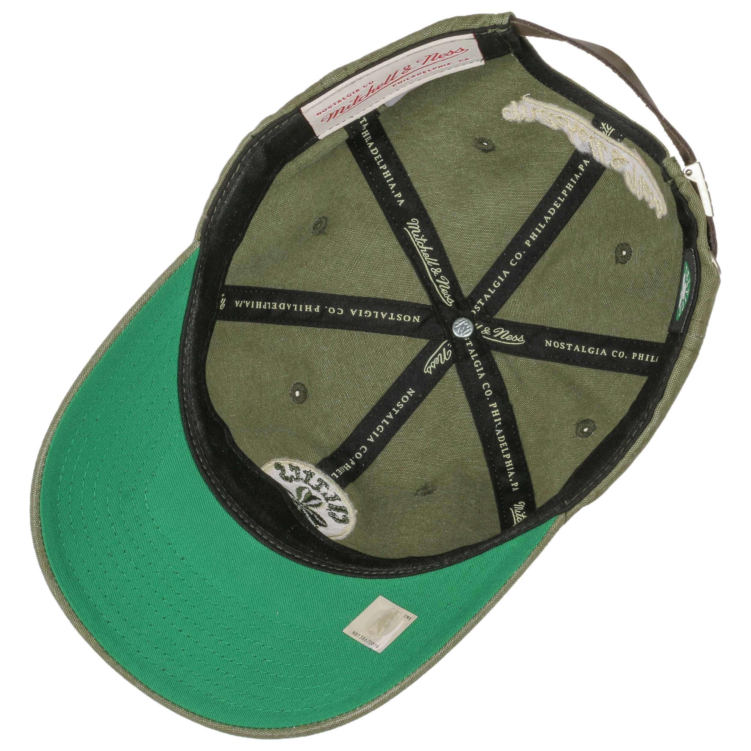 ... Workmen´s Celtics Cap by Mitchell   Ness - olive 2 ... 93eef21eb68