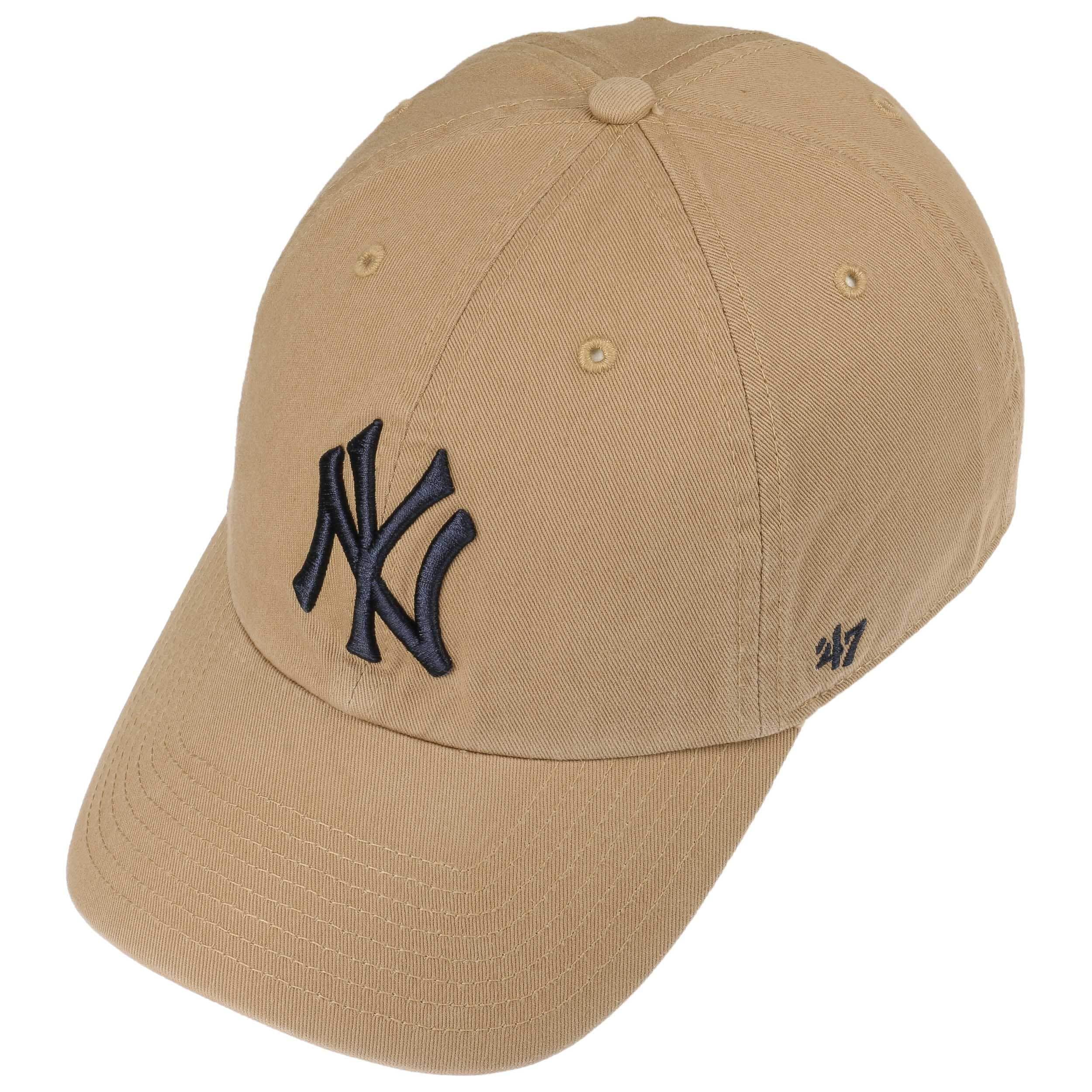 a3123af79670a ... Yankees CleanUp Strapback Cap by 47 Brand - beige 1 ...