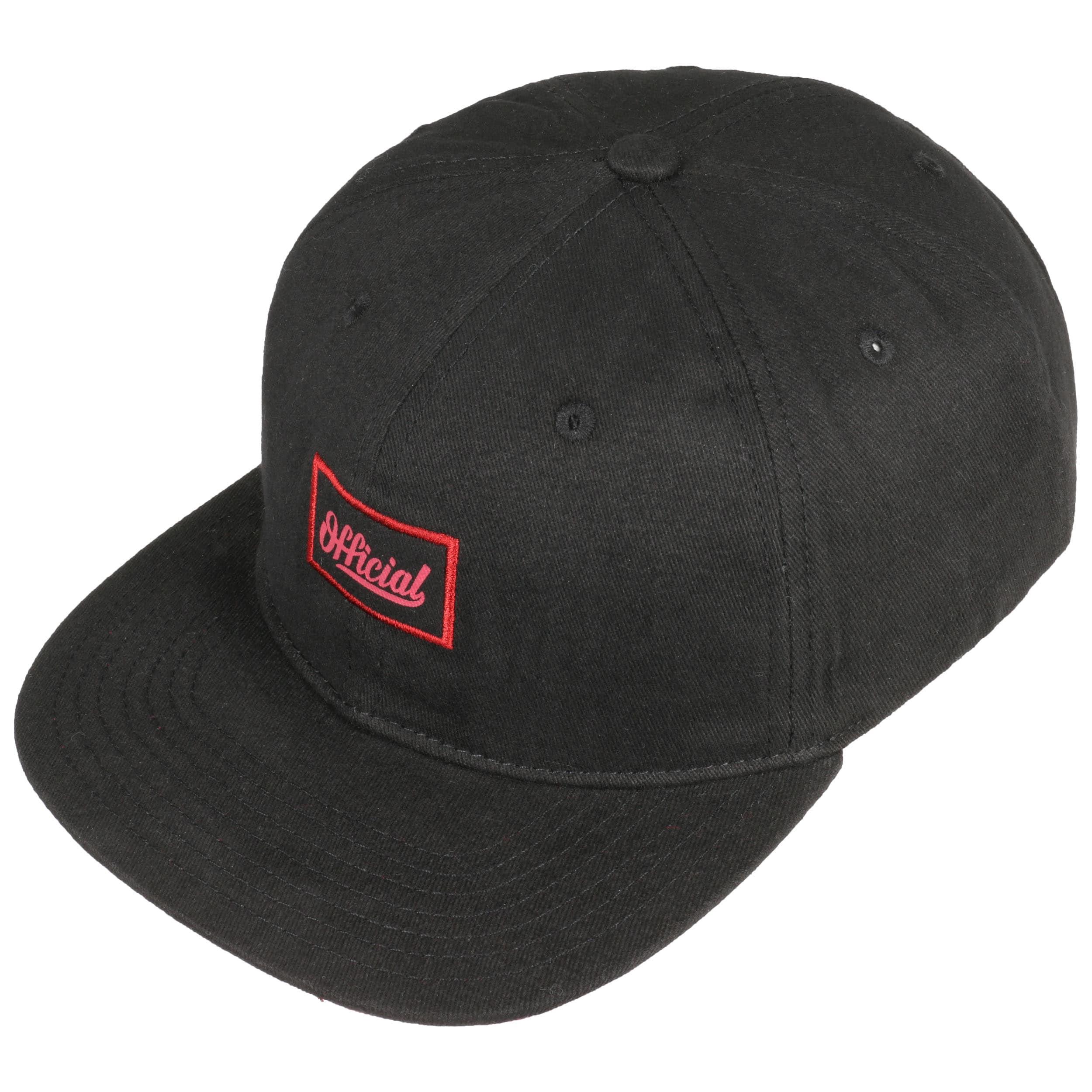 2f5cac6f079bd ... Yardie Snapback Cap by Official Headwear - black 1 ...