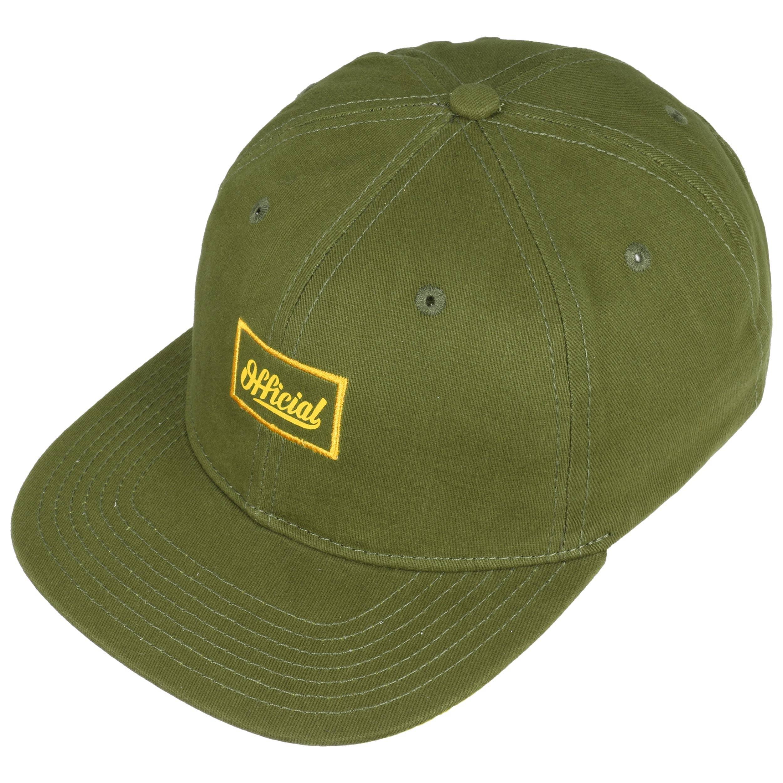 08748648e52b4 Yardie Snapback Cap by Official Headwear - olive 1 ...