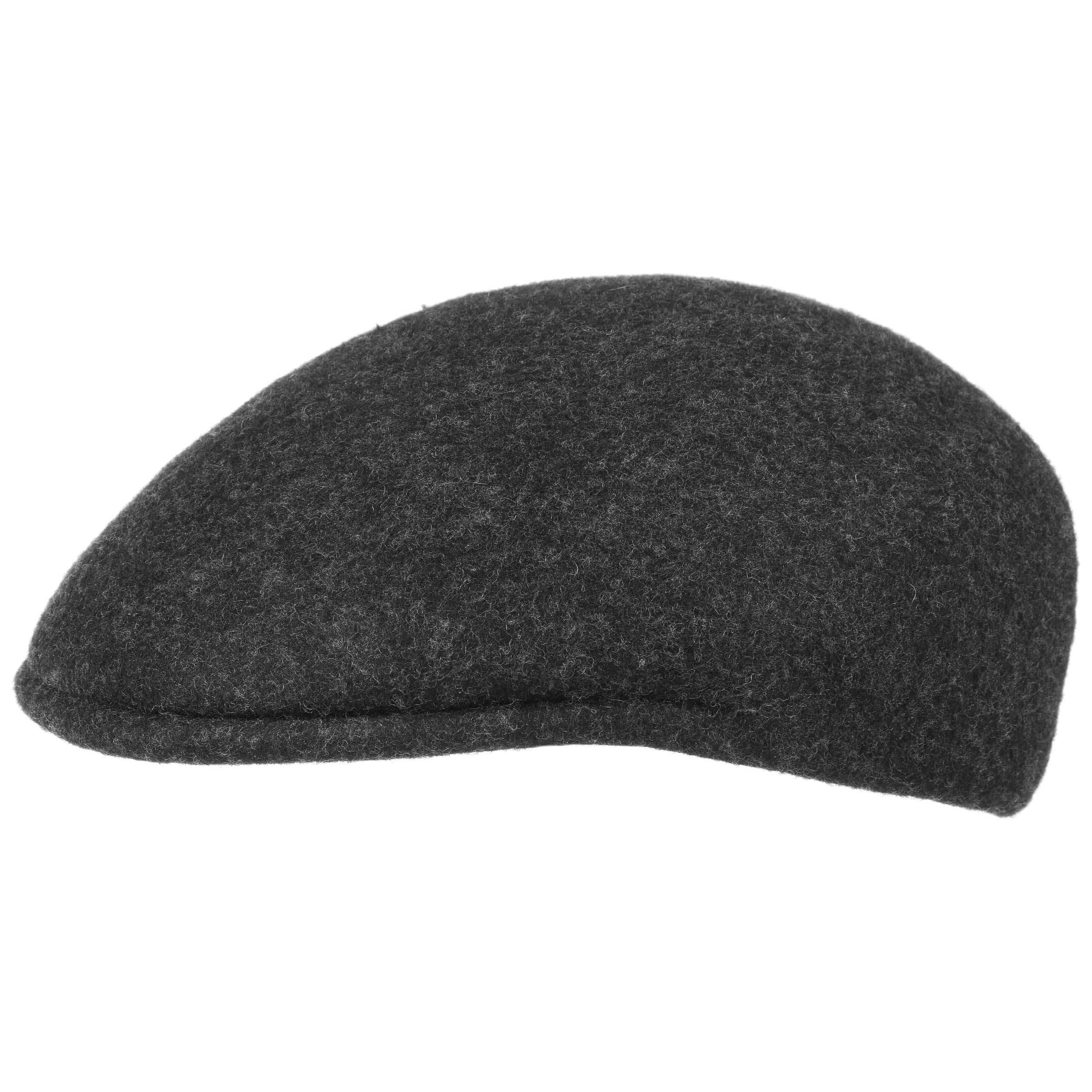 ... Youngsten Wool Felt Flat Cap - anthracite 4 ... d65c294fc4c