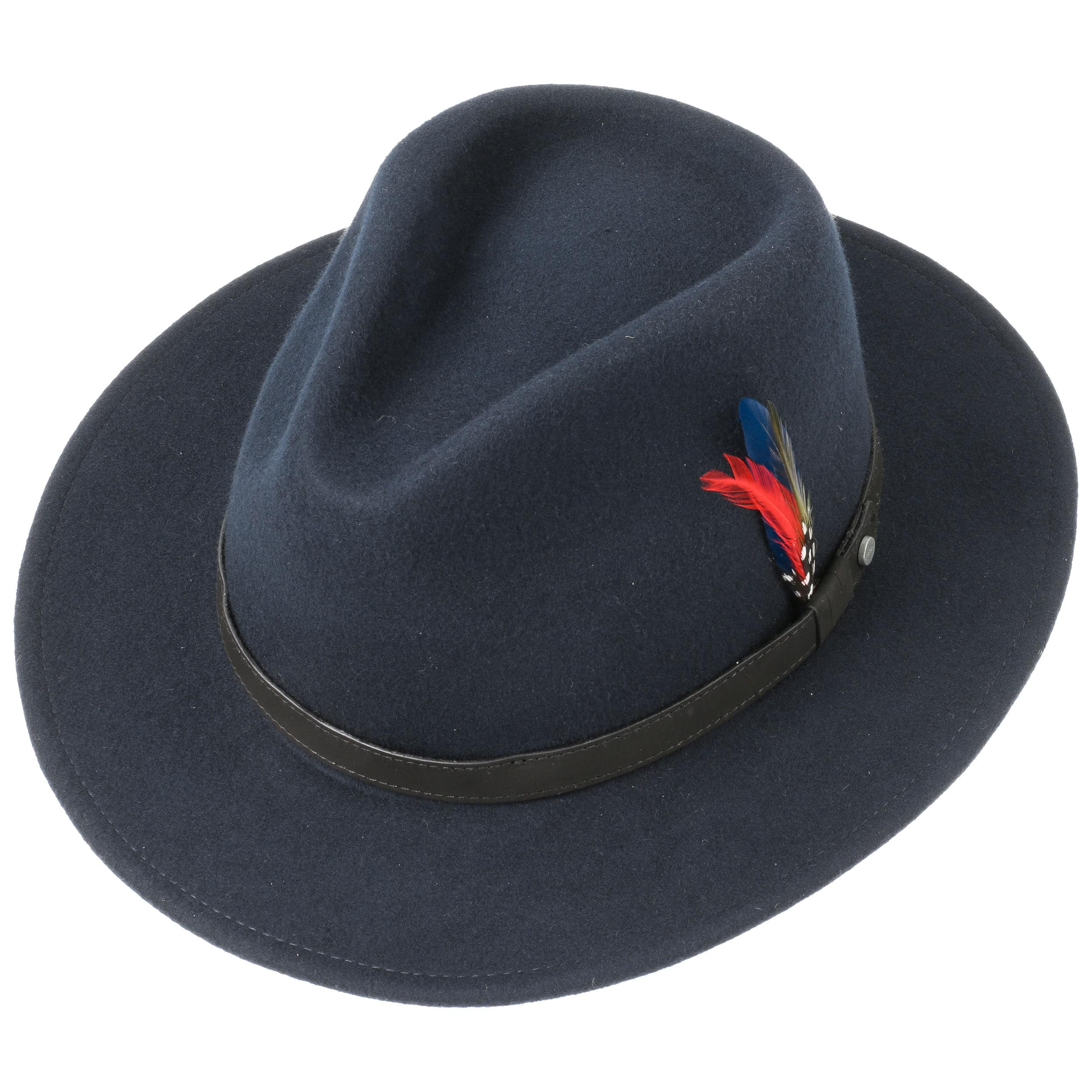 12a40558a2e76 Yutan Wool Hat by Stetson - navy 1 ...